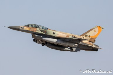896 F-16I Sufa 107sq Israeli Air Force