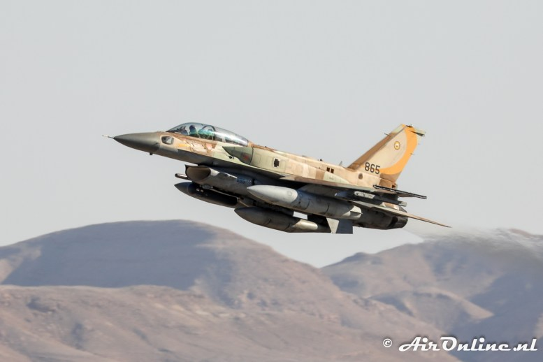 865 F-16I Sufa 107sq Israeli Air Force