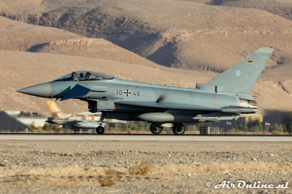 30+46 Eurofighter EF-2000 Typhoon TLG73 German Air Force