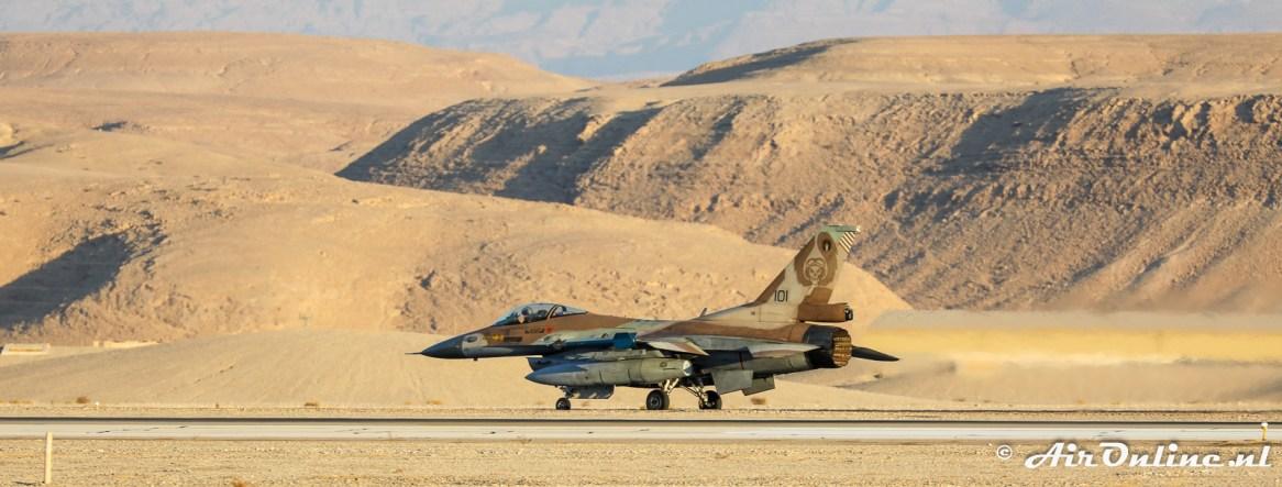 101 F-16C Block 40 Barak 101sq Israeli Air Force
