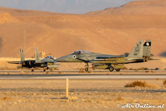 669 F-15A Baz 133sq Israeli Air Force