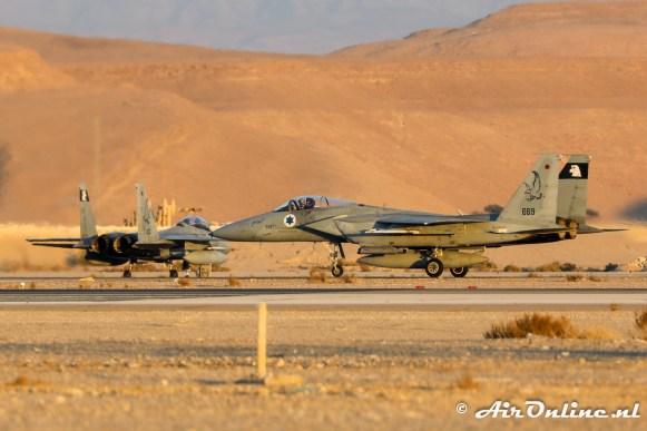 669 F-15A Baz 133sq Israeli Air Force