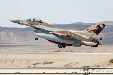 309 F-16C Block 30 Barak 115sq Flying Dragons Israeli Air Force