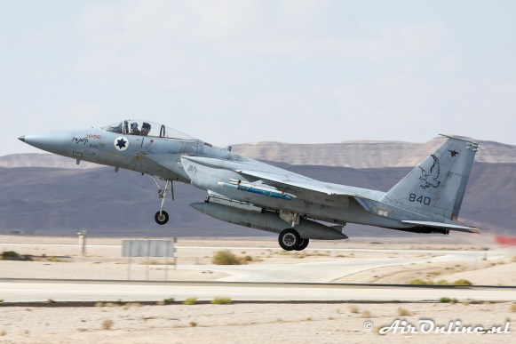 840 F-15C Baz 106sq Israeli Air Force