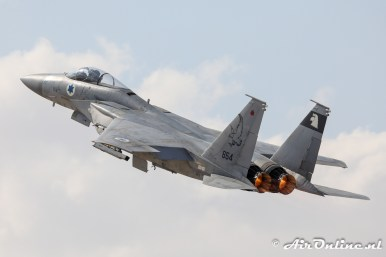 654 F-15A Baz 133sq Israeli Air Force