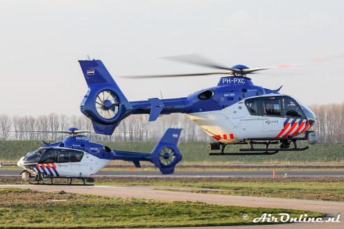 PH-PXA + PH-PXC Eurocopter EC135 P2+