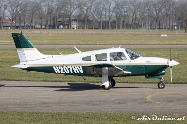 N207HV Piper PA-28R-201T Turbo Arrow III