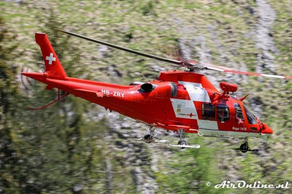 HB-ZRY AgustaWestland AW109SP DaVinci - REGA
