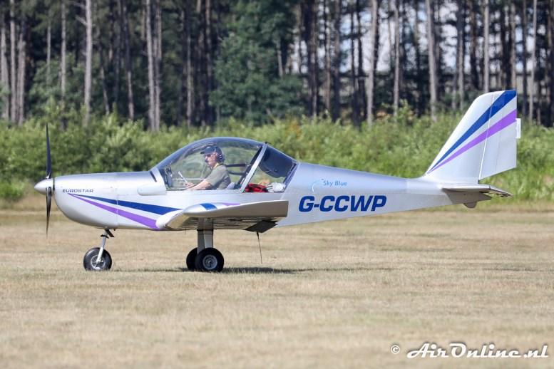G-CCWP Evektor EV-97 EuroStar