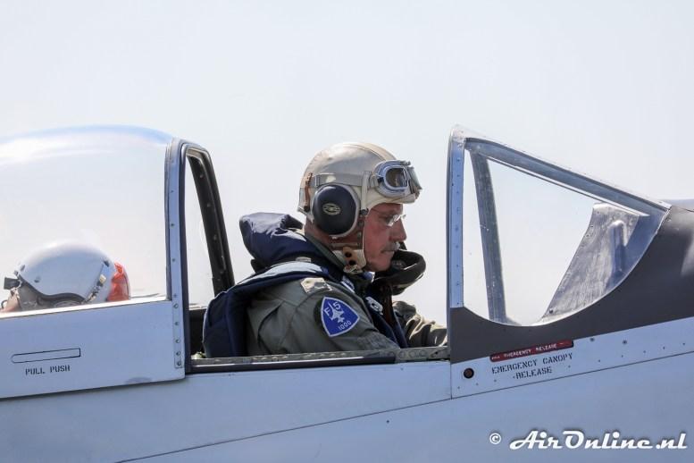 PH-JAT North American P-51D Mustang met Edwin Boshoff