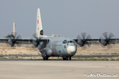 702 Lockheed Martin C-130J Hercules Royal Bahraini Air Force