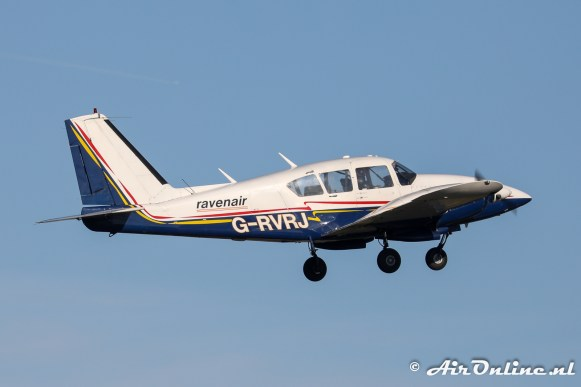 G-RVRJ Piper PA-23-250 Aztec E