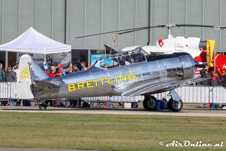 F-AZCQ North American T-6G Texan Breitling