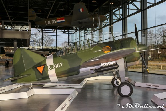 B-3107 Brewster B-339C Buffalo Replica
