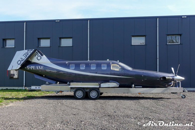 (PH-HUB) Socata TBM700 X-Plane bar