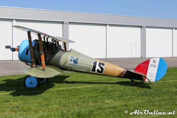 PH-NIE Nieuport 28C1 Replica