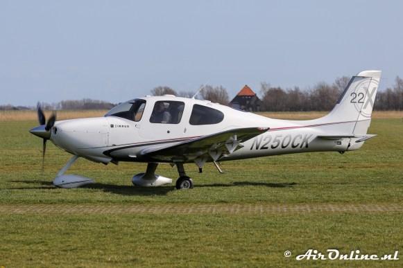 N250CK Cirrus SR22X