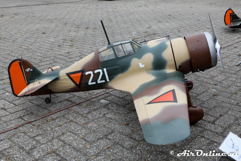 Model Fokker D.21