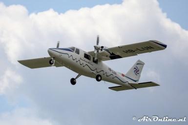 HB-LUN Vulcanair P.68C