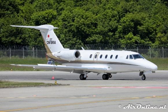 CN-SRA Cessna 650 Citation VII
