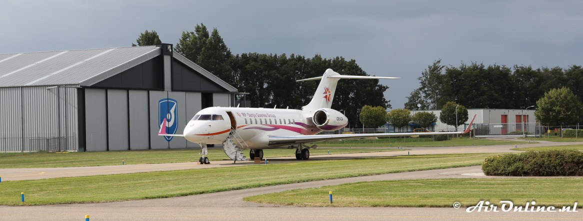OE-ICA Bombardier BD-700-1A11 Global 5000
