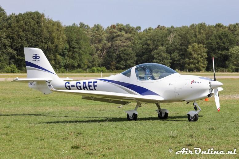 G-GAEF Aquila A211