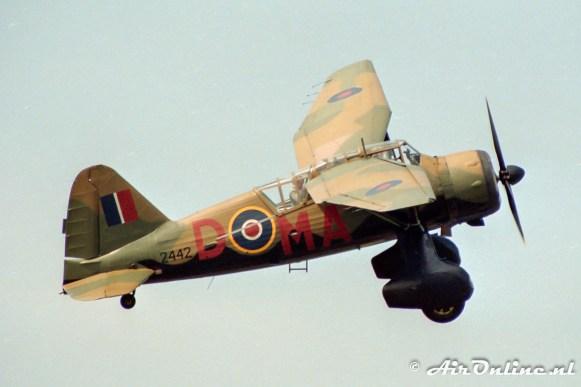 OO-SOT / 2442 Westland Lysander Mk.IIIa