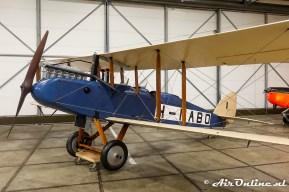 H-NABO De Havilland (Airco) D.H.9B (replica)