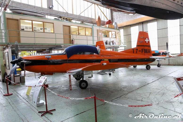 HB-FMA Pilatus PC-7 Turbo Trainer