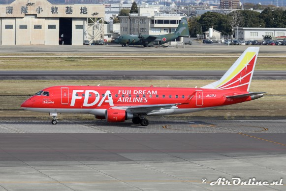 JA01FJ Embraer ERJ-170STD - Fuji Dream Airlines