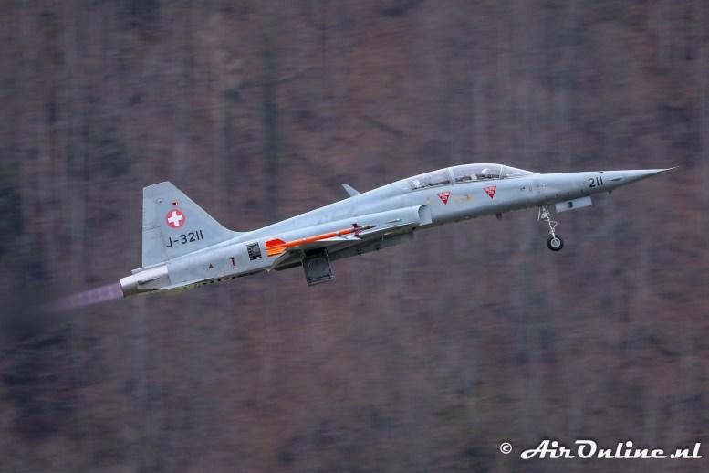 J-3211 Northrop F-5F Tiger II Swiss AF
