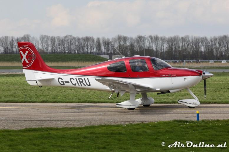 G-CIRU Cirrus SR20X