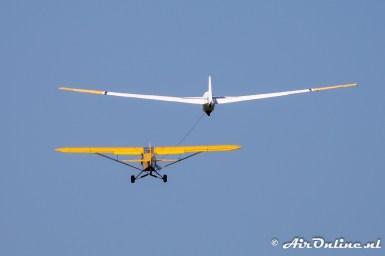 PH-ZVC Piper PA-18-150 Super Cub + PH-1616 Sportflugzeugbau JUBI (Schleicher) ASK-13
