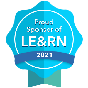 Proud Sponsor of LE&RN