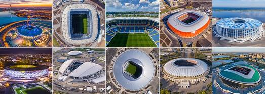 2018 Στάδια Παγκοσμίου Κυπέλλου της FIFA • AirPano.com • 360 ° Εναέρια Πανοράματα • 360 ° Εικονικές Περιηγήσεις σε όλο τον κόσμο