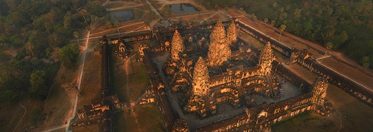Angkor Wat, Cambodia - AirPano.com • 360 Degree Aerial Panorama • 3D Virtual Tours Around the World