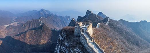 Σινικό Τείχος της Κίνας.  Jiankou και Jiaoshan • AirPano.com • 360 ° εναέρια πανοράματα • 360 ° εικονικές περιηγήσεις σε όλο τον κόσμο