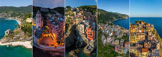 Cinque Terre, Italy • AirPano.com • 360° Aerial Panoramas • 360° Virtual Tours Around the World