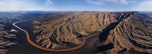 Grand Canyon West, USA - AirPano.com • 360 Degree Aerial Panorama • 3D Virtual Tours Around the World