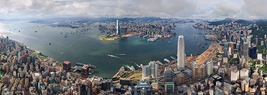 Hong Kong - the City Where Dreams Come True - AirPano.com • 360 Degree Aerial Panorama • 3D Virtual Tours Around the World