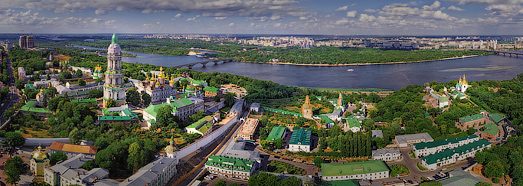 Kiev. Its Cathedrals and Monasteries  - AirPano.com • 360 Degree Aerial Panorama • 3D Virtual Tours Around the World