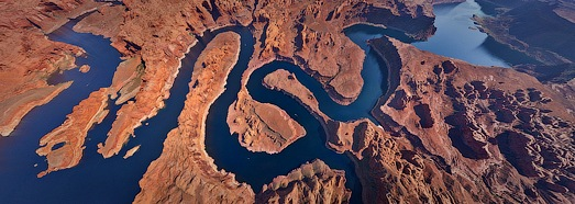 Lake Powell, Utah-Arizona, USA - AirPano.com • 360 Degree Aerial Panorama • 3D Virtual Tours Around the World