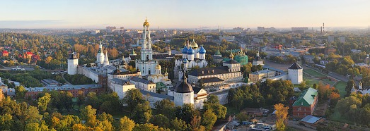 Trinity Lavra of St. Sergius - AirPano.com • 360 Degree Aerial Panorama • 3D Virtual Tours Around the World