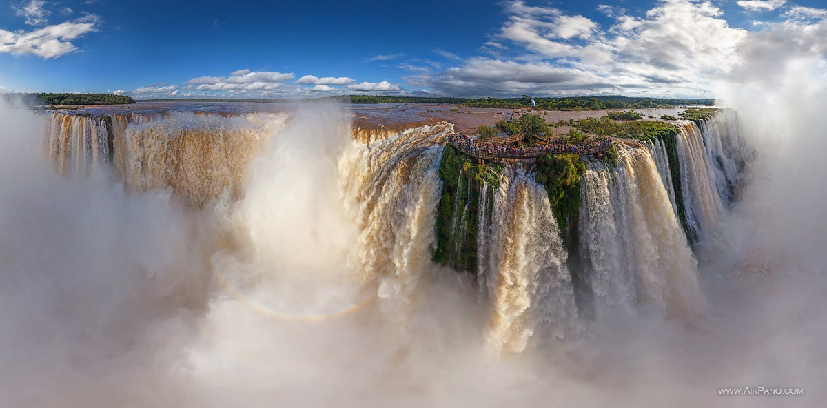 The Iguazu Falls #45 • AirPano.com • Photo