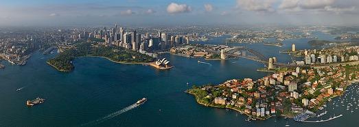 Сидней, Австралия - AirPano.ru • 360 Градусов Аэрофотопанорамы • 3D Виртуальные Туры Вокруг Света