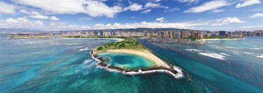 Гавайи, остров Оаху, виртуальный тур - AirPano.ru • 360 Градусов Аэрофотопанорамы • 3D Виртуальные Туры Вокруг Света