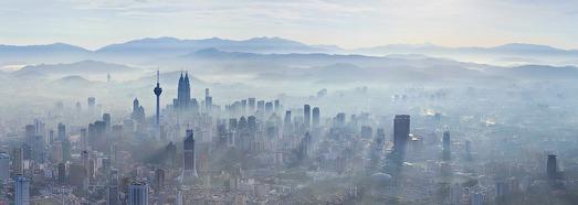 """Куала Лумпур, Малазия. Башни """"Petronas"""" - AirPano.ru • 360 Градусов Аэрофотопанорамы • 3D Виртуальные Туры Вокруг Света"""