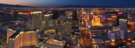Вечером и ночью над Лас-Вегасом - AirPano.ru • 360 Градусов Аэрофотопанорамы • 3D Виртуальные Туры Вокруг Света
