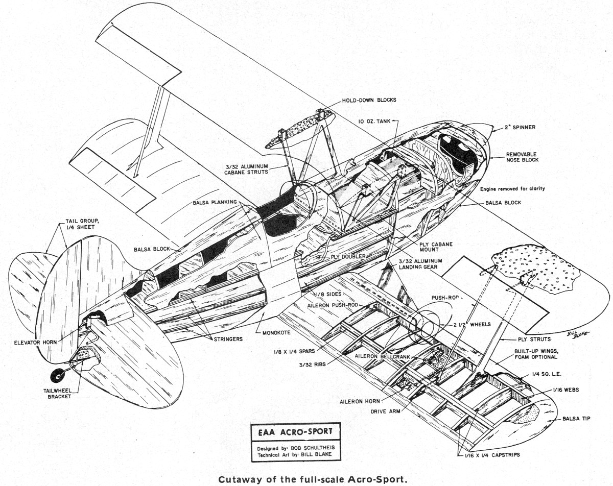 Eaa Acro Sport Plans And Article November American