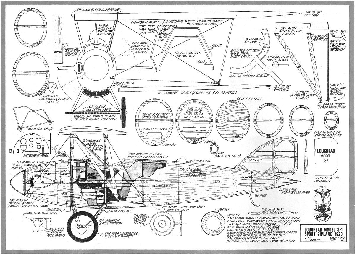 Build A Model Boat Plans